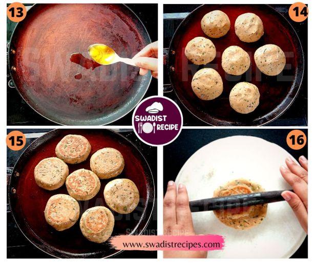 Sindhi Koki Recipe Step 4