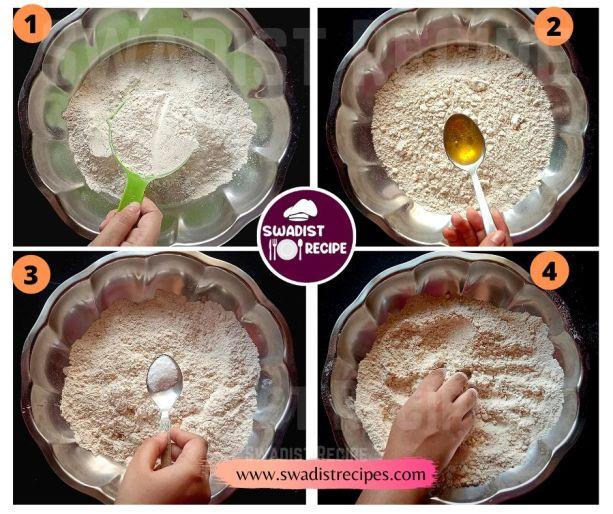 Sindhi Koki Recipe Step 1