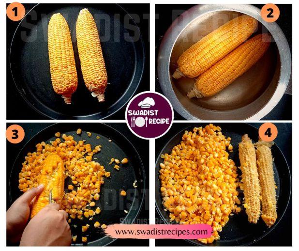 Sweet corn soup Recipe Step 1