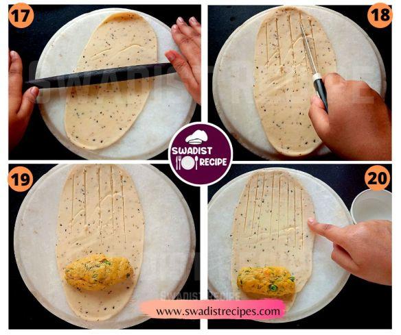 Veg puff roll Recipe Step 5