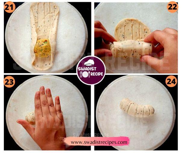 Veg puff roll Recipe Step 6