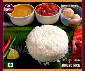 उबले हुए चावल Ready to serve