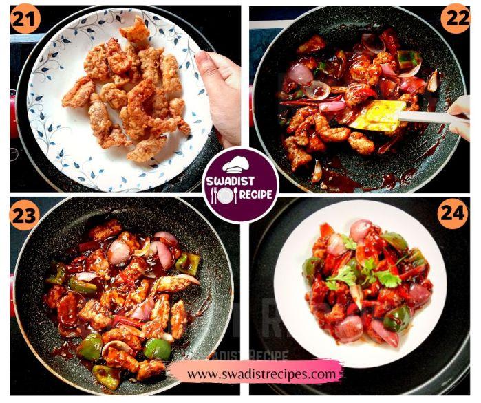 Chilli chicken Recipe Step 6