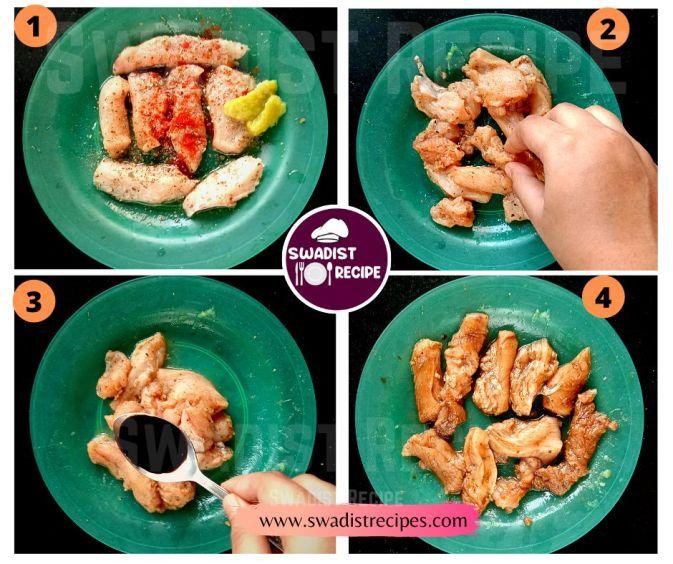 Chilli chicken Recipe Step 1