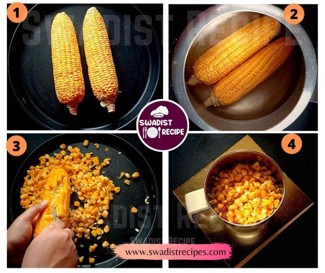Corn pakoda Recipe Step 1