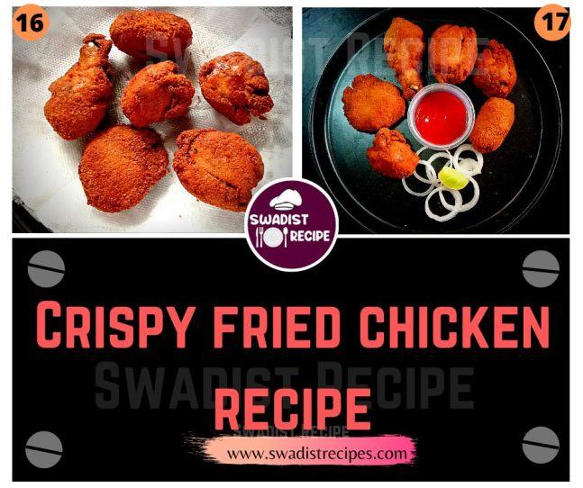 Crisp fried chicken Recipe Step 5