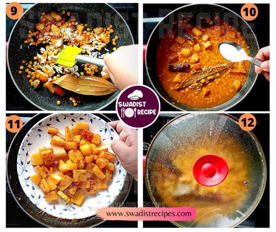 Kumror chokka Recipe Step 3