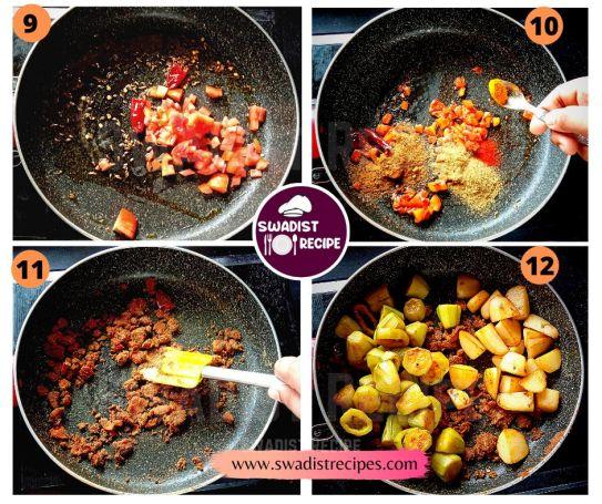 Niramish Alu Potoler Jhol Recipe step 3