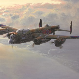 Almost Home - Avro Lancaster