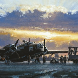Final Preparations Wellington Bomber