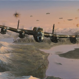 Attack on the Tirpitz Lancaster
