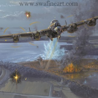 Night of Heroes Lancaster - The Dambusters By Philip West