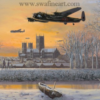 We Salute You - Lancaster By Philip West