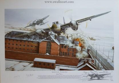 Operation Jericho de Havilland Mosquito Philip West