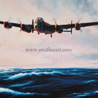 Dambusters - Avro Lancaster The Dash for Home