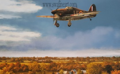 Legend of the Skies - Hurricane By Stephen Brown