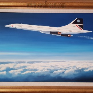 Concorde - Supersonic Thoroughbred By Stephen Brown