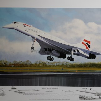 concorde the final touch down remarque