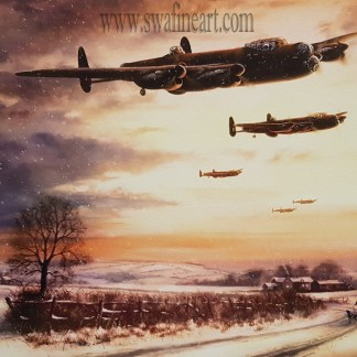 Last Mission Before Christmas - Avro Lancaster Stephen Brown