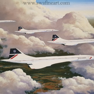 Cloud Companions-Concorde Stephen Brown
