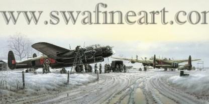 Avro Lancaster Maximum Effort Christmas card