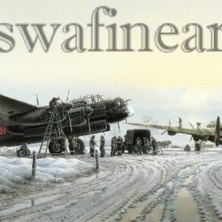 Avro Lancaster Maximum Effort Christmas card