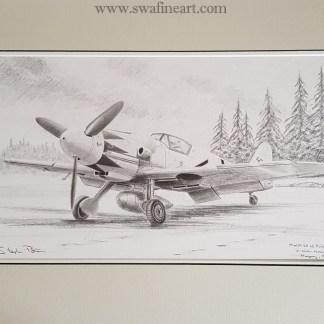 109-original-pencil-drawing-stephen-Brown-Aviation-Artist.