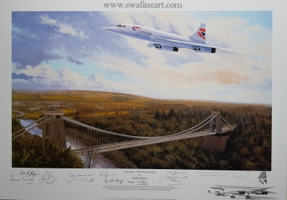 Concorde-The Homecoming Stephen Brown Remarque
