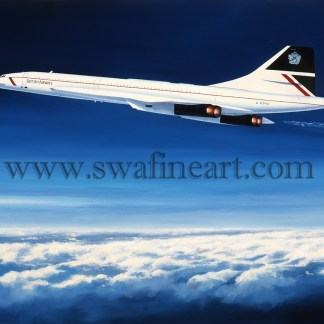 Concorde - The Supersonic Thoroughbred Birthday card