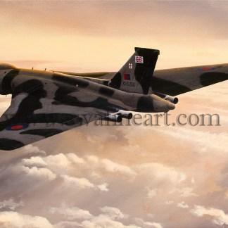 Vulcan Outward Bound Birthday card