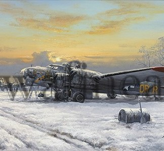 B-17 Nine O Nine Christmas Card