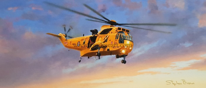 Westland Sea King HAR 3 Birthday card