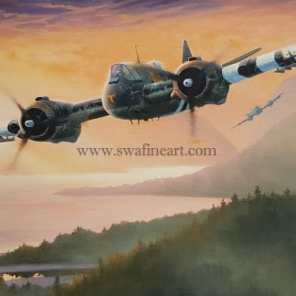 Bristol Beaufighter Fast Exit Aviation Cards
