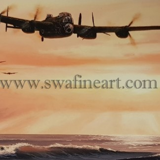 Avro Lancaster Touch and Go Birthday Cards