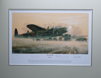 Misty Morning A Proof Mounted