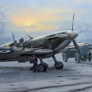 Supermarine Spitfire Call of Duty Christmas cards