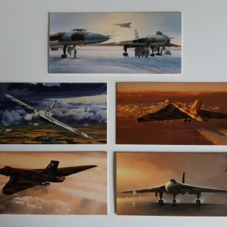 The Avro Vulcan Bomber Collection pack of cards