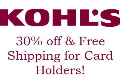 30 Off Kohl S With Card