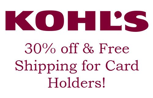 Shop online at Kohls and you can find everything you need at affordable prices. They offers great deals on clothing, footwear, cosmetics and more. Check out the latest Kohls coupon code 30% OFF and Kohls coupon Free shipping MVC.
