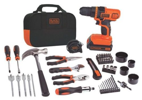 Black & Decker 20-Volt MAX Lithium-Ion Drill and Project Kit