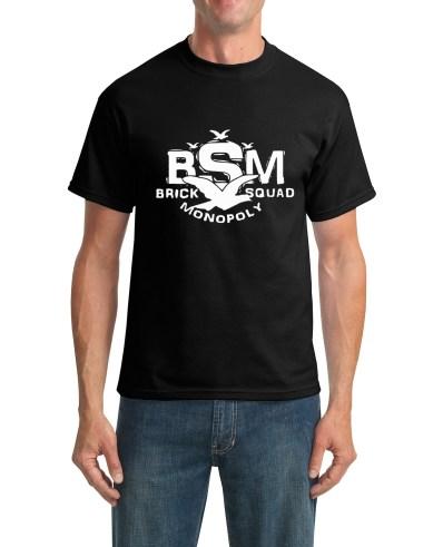 bsm Black t-shirt