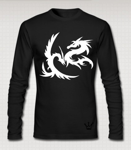 dragon full black