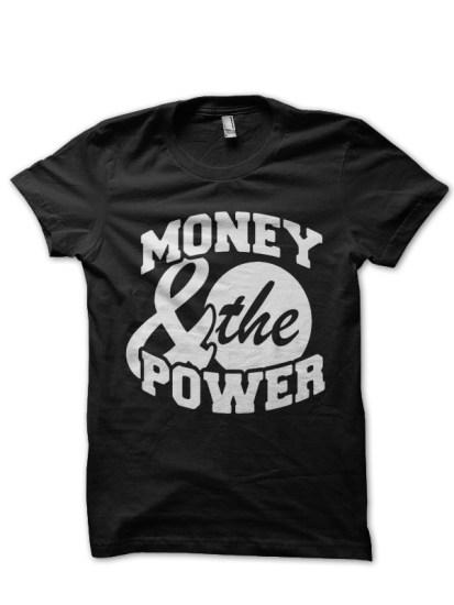 money black tee