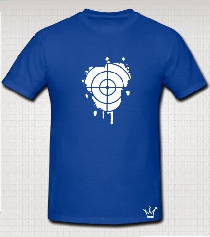 snipper t-shirt blue