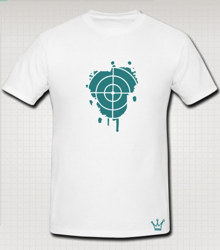 snipper aim t-shirt