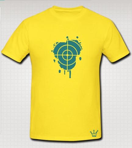 snipper t-shirt yellow