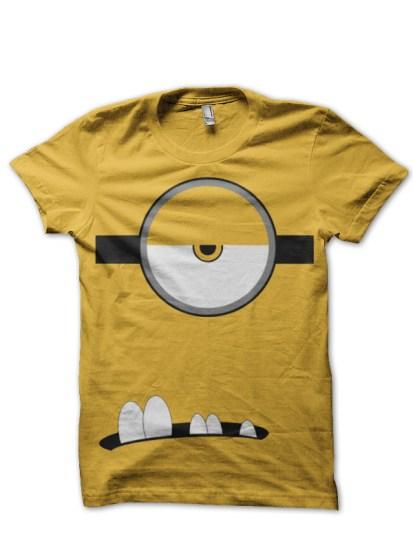 minion yellow tshirtt