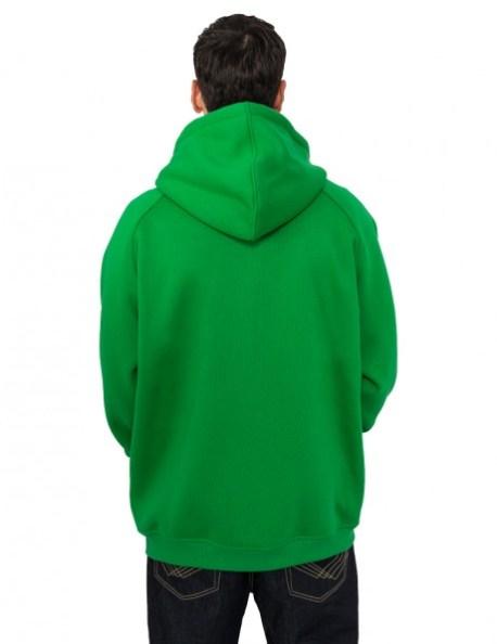 Green hulk Hoodie Backside