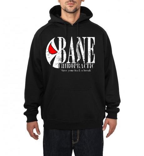 bane black hoodie
