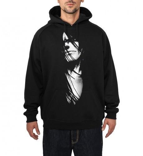 sanin black hoodie